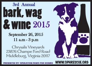 Bark Wag Wine OPH 2014