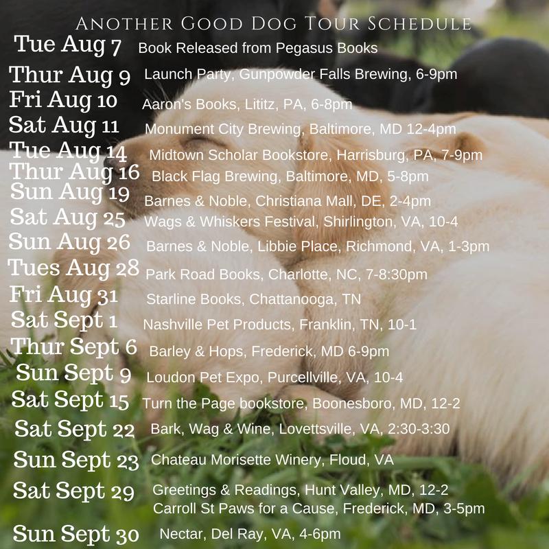 puppy schedule 8-7-18