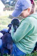 cara with pups photo credit - Nancy Slattery