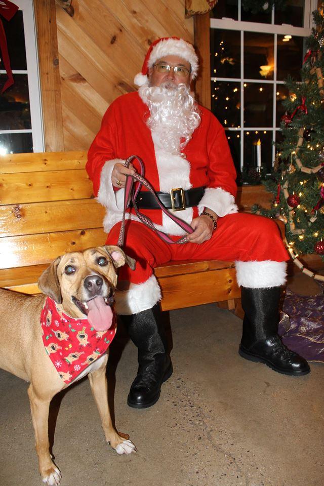 gala with santa