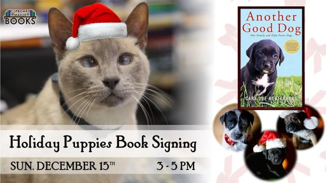 puppy book signing
